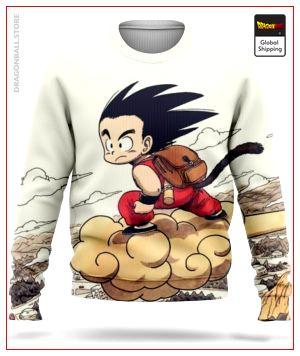 Dragon Ball Sweater  Magic Cloud S Official Dragon Ball Z Merch