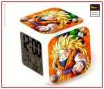 Dragon Ball Z Alarm Clock Super Saiyan Form 3 Default Title Official Dragon Ball Z Merch