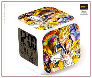 Dragon Ball Z Alarm Clock Gogeta Default Title Official Dragon Ball Z Merch