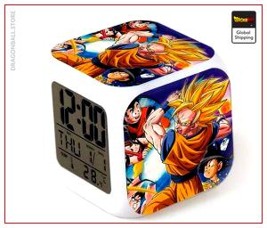 Dragon Ball Z Alarm Clock Goku Saiyan Default Title Official Dragon Ball Z Merch