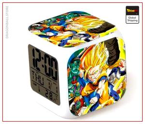 Dragon Ball Alarm Clock Saga Z Default Title Official Dragon Ball Z Merch