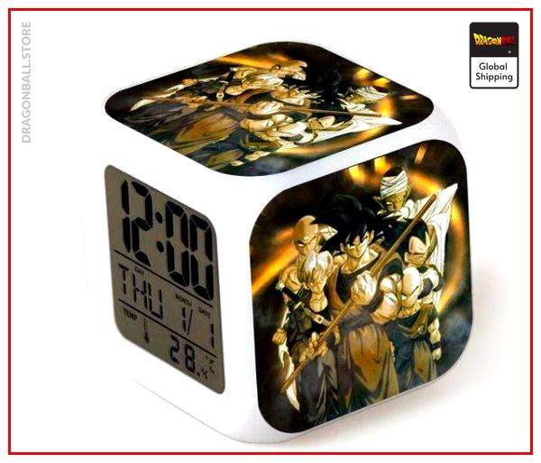 Dragon Ball Alarm Clock Vintage Default Title Official Dragon Ball Z Merch