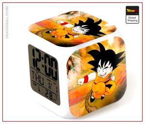 Dragon Ball Alarm Clock Goku Small Training Default Title Official Dragon Ball Z Merch