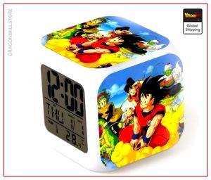 Dragon Ball Alarm Clock Goku and Friends Default Title Official Dragon Ball Z Merch