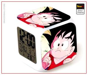 Dragon Ball Alarm Clock Goku Little Sad Default Title Official Dragon Ball Z Merch