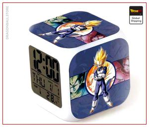 Dragon Ball Z Alarm Clock Vegeta Super Saiyan Default Title Official Dragon Ball Z Merch