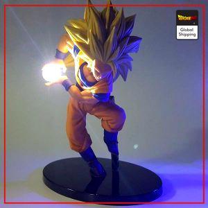 DBZ LED Figure Goku Super Saiyan 3 White LED Official Dragon Ball Z Merch