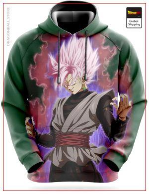 Dragon Ball Super Sweatshirt  Goku Black SSJ Pink S Official Dragon Ball Z Merch