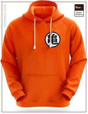Dragon Ball sweatshirt Kanji Kamé Orange / L Official Dragon Ball Z Merch