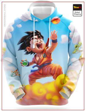 Dragon Ball Sweatshirt  Goku Detector 5XL Official Dragon Ball Z Merch