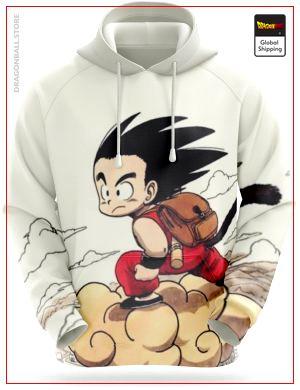 Dragon Ball Sweatshirt  Magic Cloud S Official Dragon Ball Z Merch
