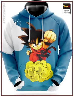 Dragon Ball Sweatshirt  Supersonic Cloud S Official Dragon Ball Z Merch