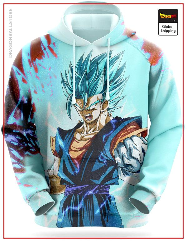 Dragon Ball Sweatshirt  Vegeto Super Saiyan Blue S Official Dragon Ball Z Merch
