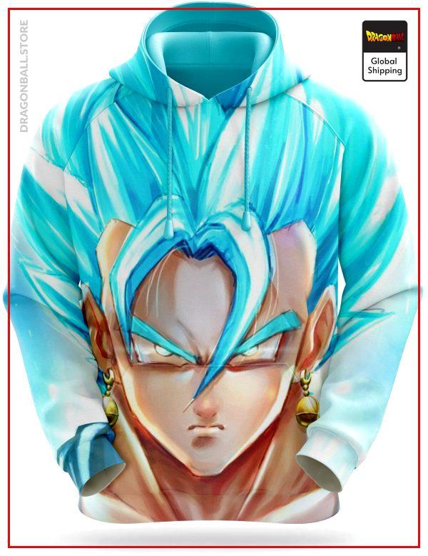 Dragon Ball Sweatshirt  Vegeto Blue Potaras XS Official Dragon Ball Z Merch