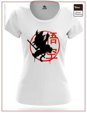 T-Shirt DBZ Woman  Goku Small S (L Japanese size) Official Dragon Ball Z Merch