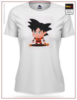 T-Shirt DBZ Woman  Mini Goku S Official Dragon Ball Z Merch