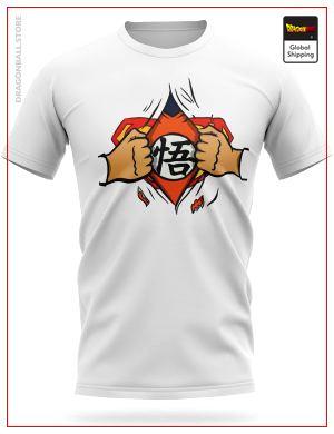 Dragon Ball Z T-Shirt Superman... Goku ? S Official Dragon Ball Z Merch