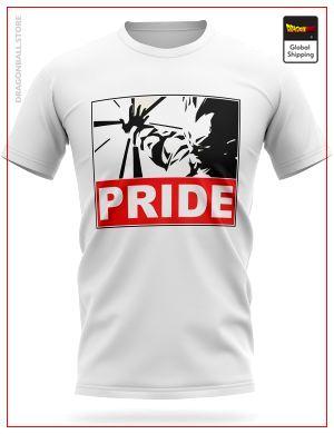Dragon Ball T-Shirt Vegeta PRIDE S Official Dragon Ball Z Merch