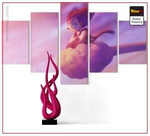 Wall Art Canvas Dragon Ball  Goku Magic Cloud Small / Without frame Official Dragon Ball Z Merch
