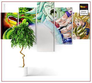 Wall Art Canvas Dragon Ball Z  Saga Broly Small / Without frame Official Dragon Ball Z Merch