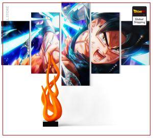 Wall Art Canvas Dragon Ball Super Ultra Kamehameha Small / With frame Official Dragon Ball Z Merch