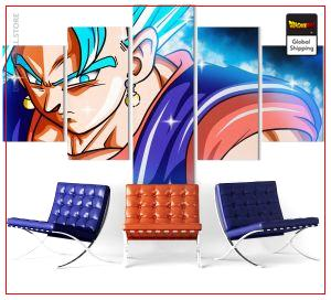 Wall Art Canvas Dragon Ball Super  Vegeto SSJ Blue Medium / Without frame Official Dragon Ball Z Merch