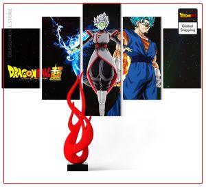 Wall Art Canvas Dragon Ball Super  Zamasu Merged Medium / Without frame Official Dragon Ball Z Merch