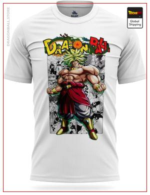 Dragon Ball Z T-Shirt Broly Original Version S Official Dragon Ball Z Merch