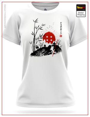 DBZ Woman T-Shirt Japanese Design 8750 / XS Official Dragon Ball Z Merch