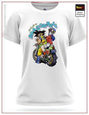 DBZ Woman T-Shirt Goku & ChiChi 8765 / XS Official Dragon Ball Z Merch