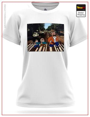 T-Shirt DBZ Woman Beatles Warriors 8749 / XS Official Dragon Ball Z Merch