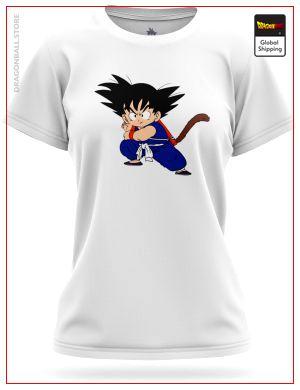 DBZ Woman T-Shirt Kamehamaha 8755 / XS Official Dragon Ball Z Merch