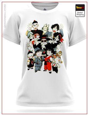 DBZ Woman T-Shirt Mashup Original 8748 / XS Official Dragon Ball Z Merch