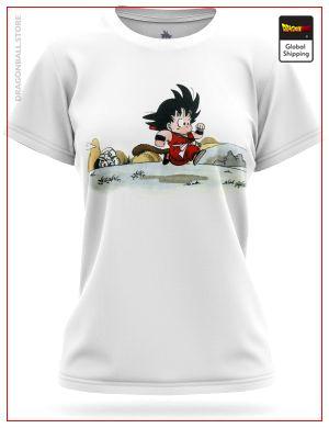 T-Shirt DBZ Woman Original Saga 8768 / XS Official Dragon Ball Z Merch
