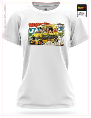 DBZ Woman T-Shirt Road to Win 8759 / XS Official Dragon Ball Z Merch