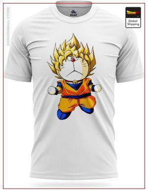 Dragon Ball Super T-Shirt Doraemon S Official Dragon Ball Z Merch