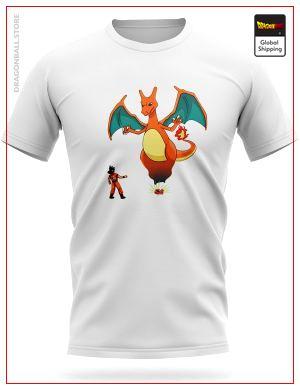 Dragon Ball Z T-Shirt Invocation Dracaufeu S Official Dragon Ball Z Merch