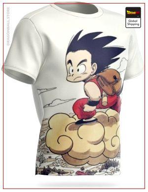 Dragon Ball Z T-Shirt Magic Cloud M Official Dragon Ball Z Merch