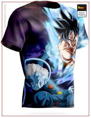 Dragon Ball Super T-Shirt Goku vs High Priest S Official Dragon Ball Z Merch