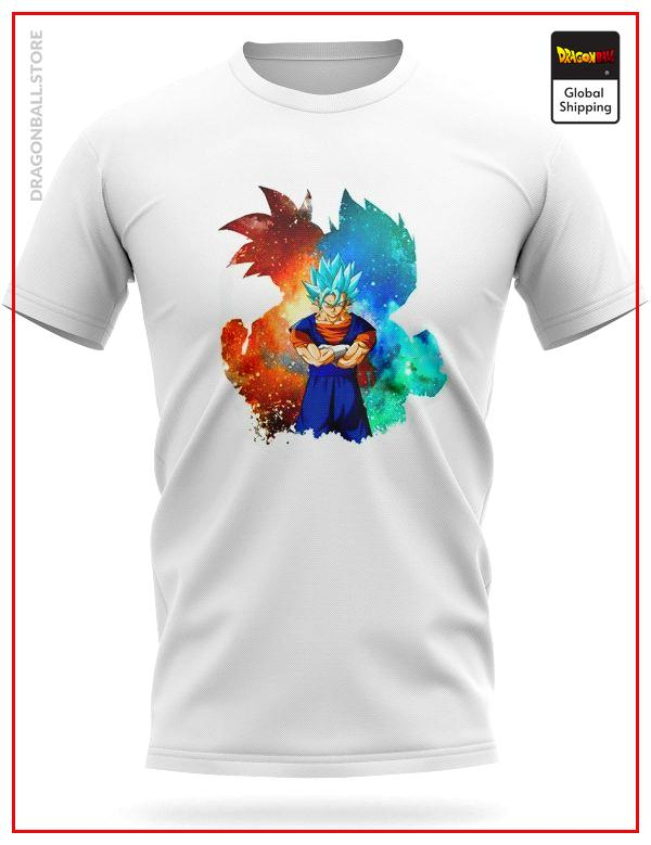 Dragon Ball Super T-Shirt Fusion Vegeto SSJ Blue S Official Dragon Ball Z Merch