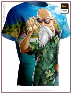 Dragon Ball T-Shirt Awesome Turtle S Official Dragon Ball Z Merch