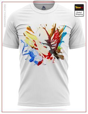 Dragon Ball Z T-Shirt Vegeta 3D Design S Official Dragon Ball Z Merch