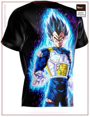 Dragon Ball Vegeta Ultra Instinct T-Shirt 3XL Official Dragon Ball Z Merch