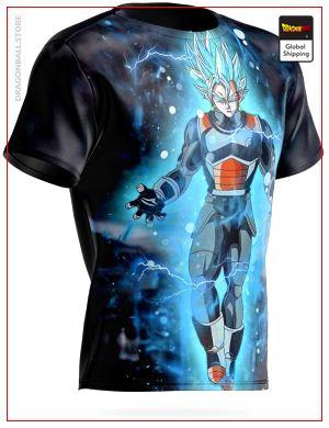 Dragon Ball T-Shirt Vegeto Super Saiyan Blue S Official Dragon Ball Z Merch