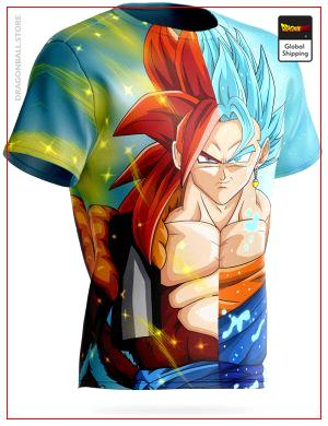 Dragon Ball T-Shirt Gogeta vs Vegeto S Official Dragon Ball Z Merch