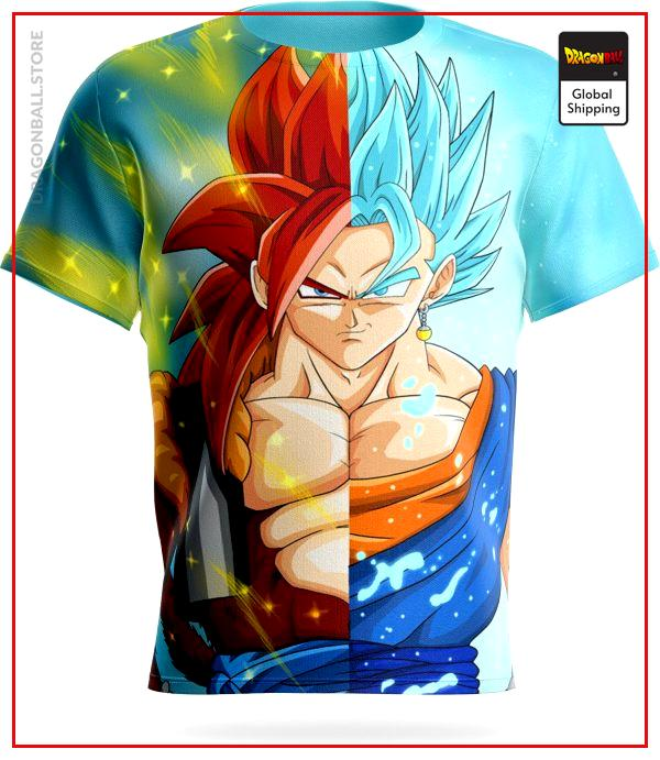 tee shirt vegeto gogeta - Dragon Ball Store