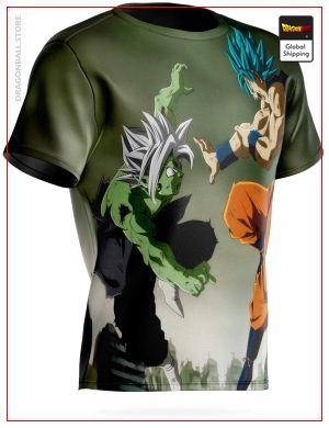 Dragon Ball Super T-Shirt Goku vs Zamasu Fusion S Official Dragon Ball Z Merch