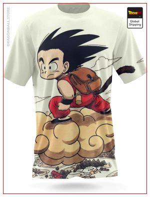 Dragon Ball Z T-Shirt  Magic Cloud2 Default Title Official Dragon Ball Z Merch