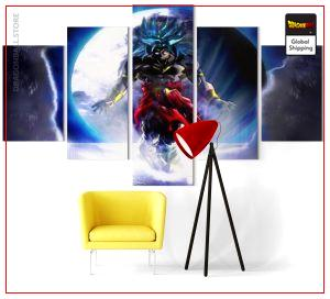 Wall Art Canvas Dragon Ball Super  Broly Chaos Small / Without frame Official Dragon Ball Z Merch