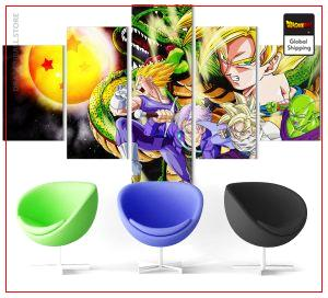 Wall Art Canvas Dragon Ball Z  Goku & Shenron Small / Without frame Official Dragon Ball Z Merch